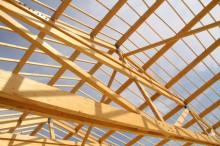 Poutre de toit bois