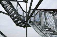 escalier alu design