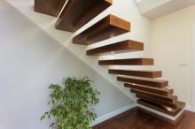 escalier en bois