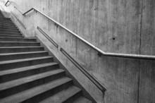 escalier intérieur en béton